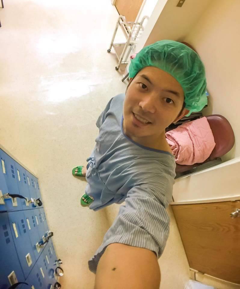 宥勝自曝動了結紮手術。圖/摘自臉書