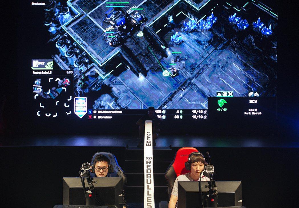 南韓電競產業發達,帶動選手收入成長。美聯社