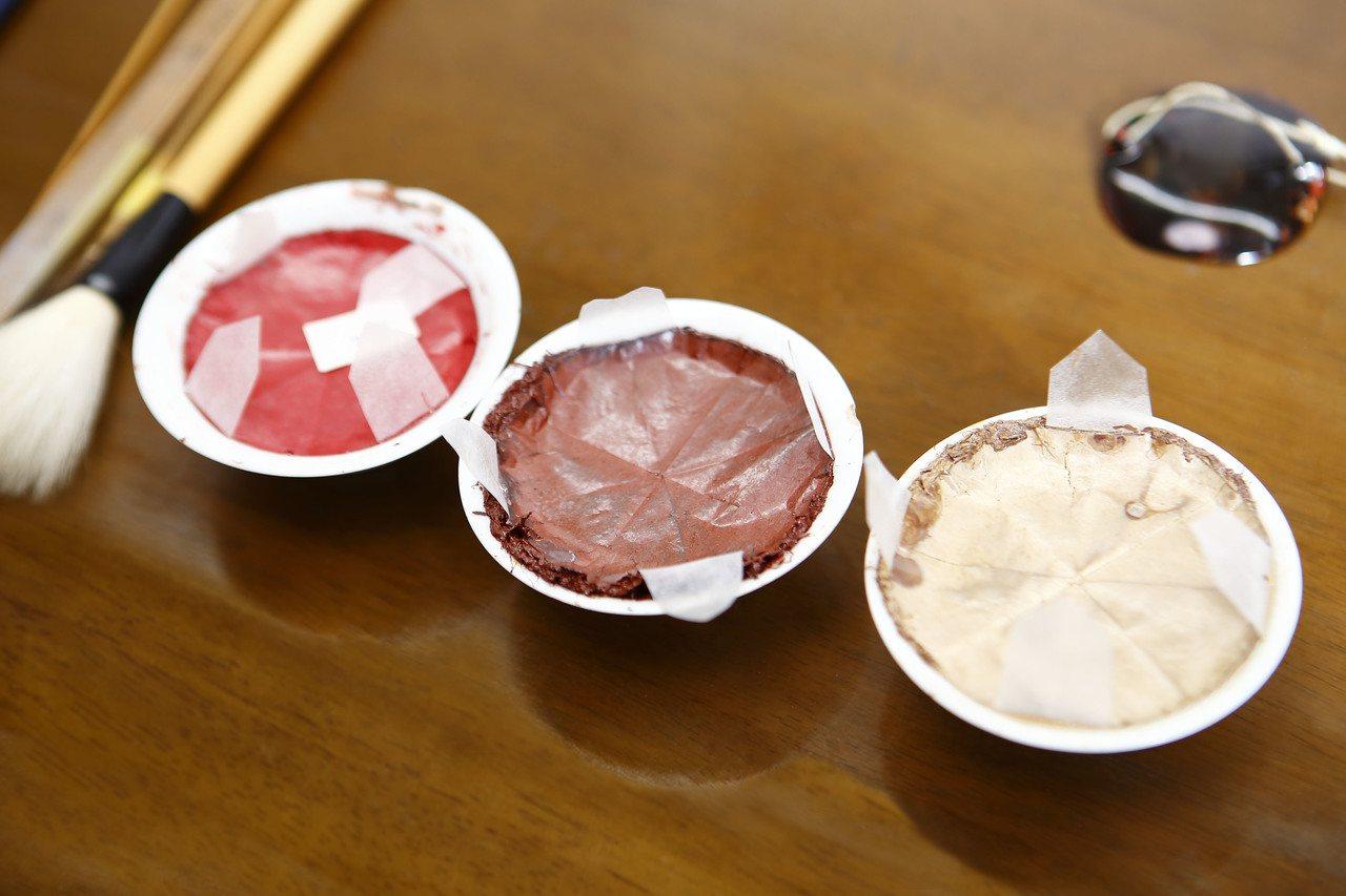 蒔繪工藝所使用的生漆。圖/蕭邦提供
