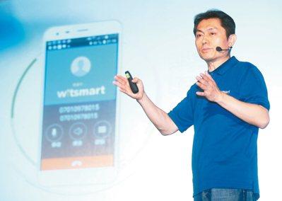 緯創軟體執行長蕭清志。 本報系資料庫