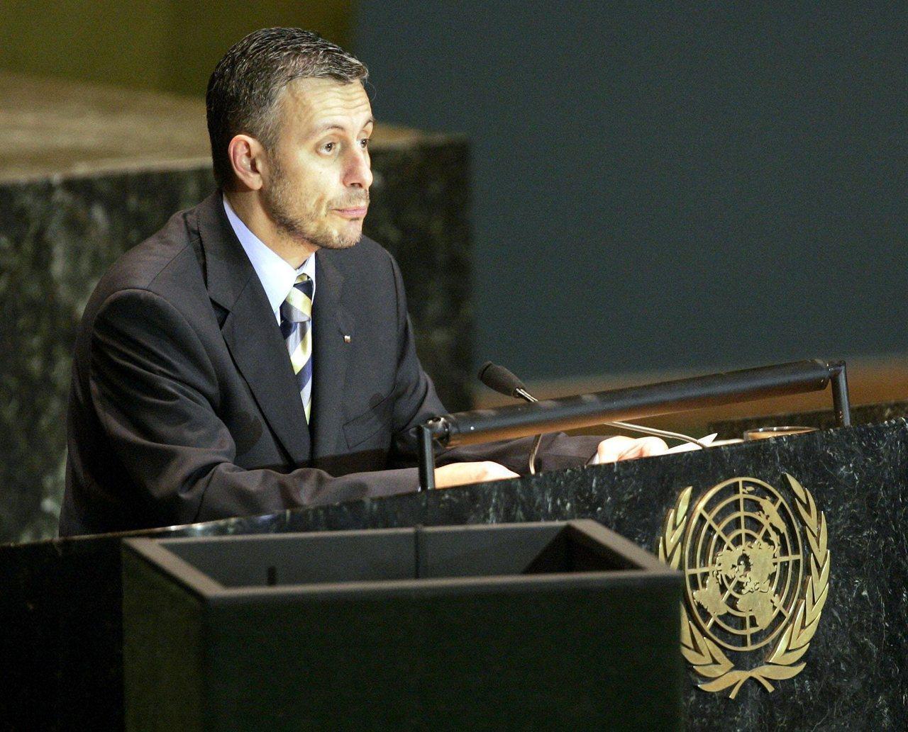 保加利亞前外交部長所羅門‧以薩‧帕西博士(Dr. Solomon Isaac P...