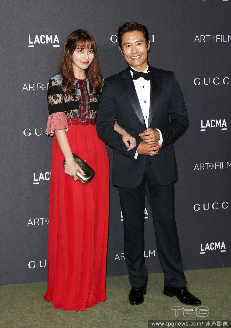李珉廷和李炳憲。圖/達志影像
