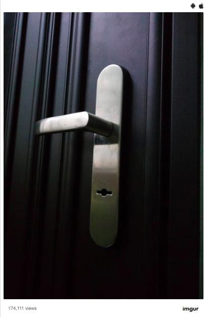 開鎖男在Ptt上po出自家門鎖照片。圖擷自Ptt
