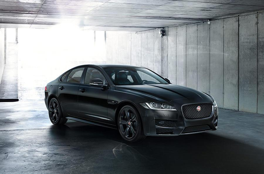 Jaguar XF R-Sport Black Edition。 摘自Jaguar