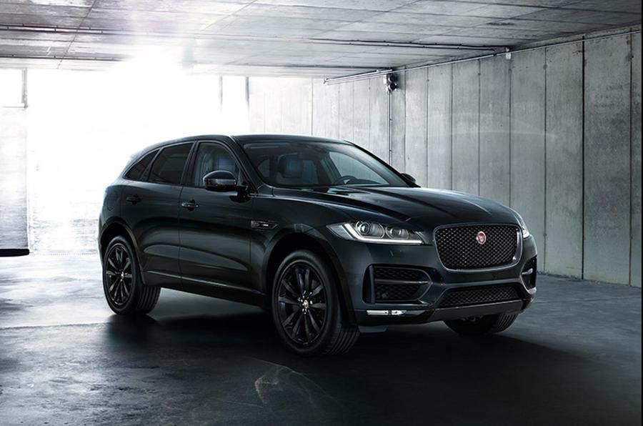 Jaguar F-Pace R-Sport Black Edition。 摘自Jaguar