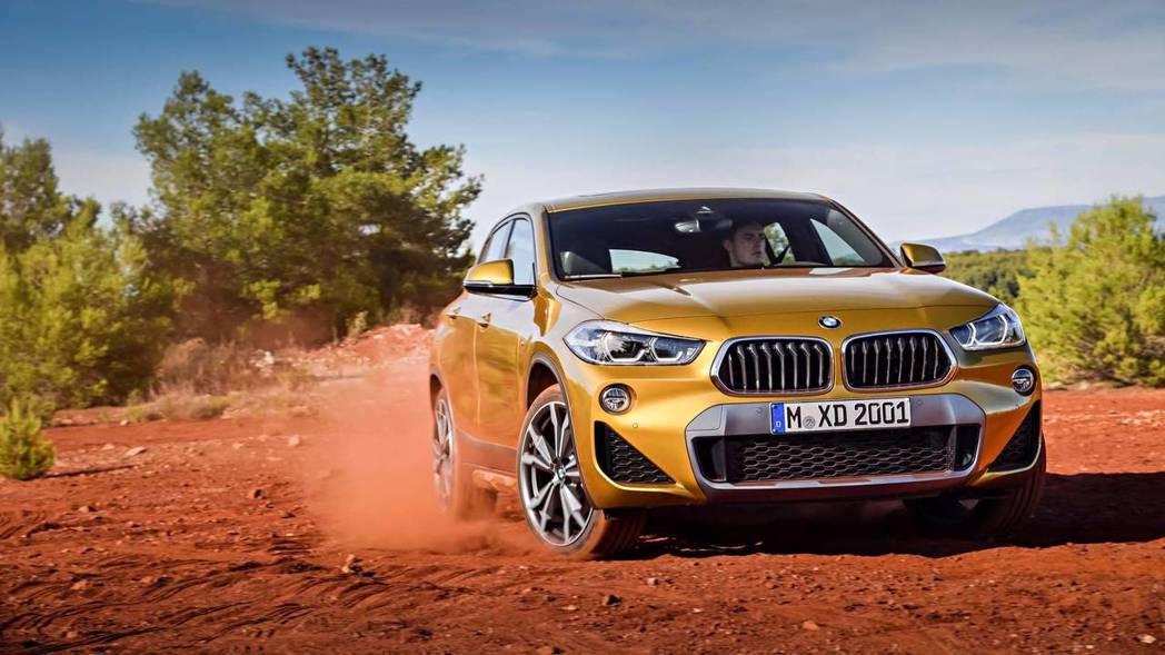 全新BMW X2已於日前亮相。 摘自BMW
