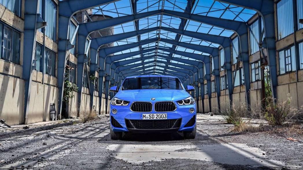 原廠代號F39的BMW X2。 摘自BMW