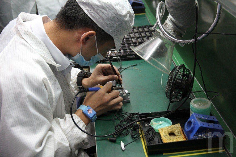 電路元件焊接