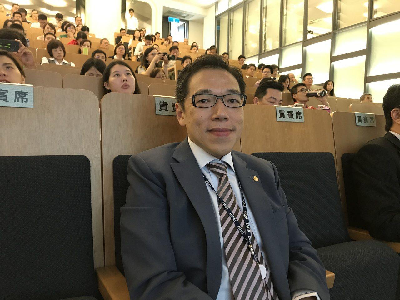 台灣金融研訓院「準院長」黃崇哲。記者陳怡慈/攝影