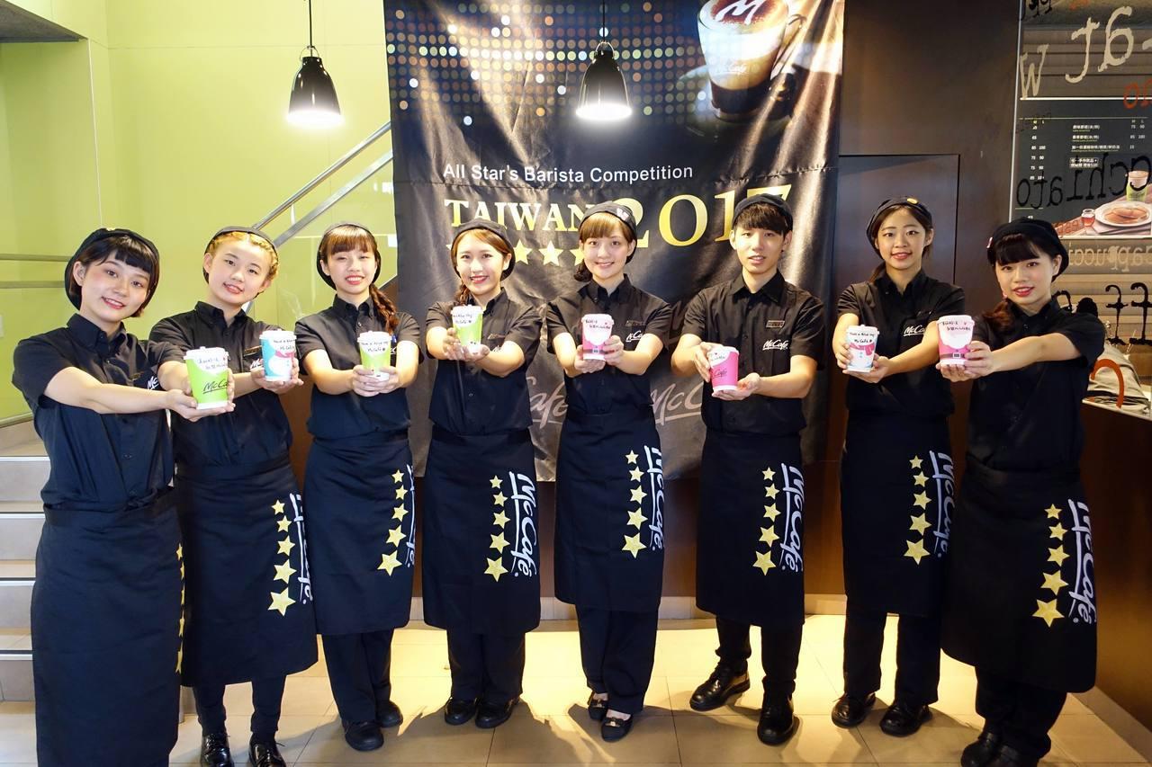 8位駐點MaCafe五星咖啡師。記者沈佩臻/攝影