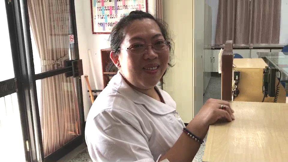 奮勇救人的女護理師邱珮媚說「當時只想救人」。記者謝進盛/攝影