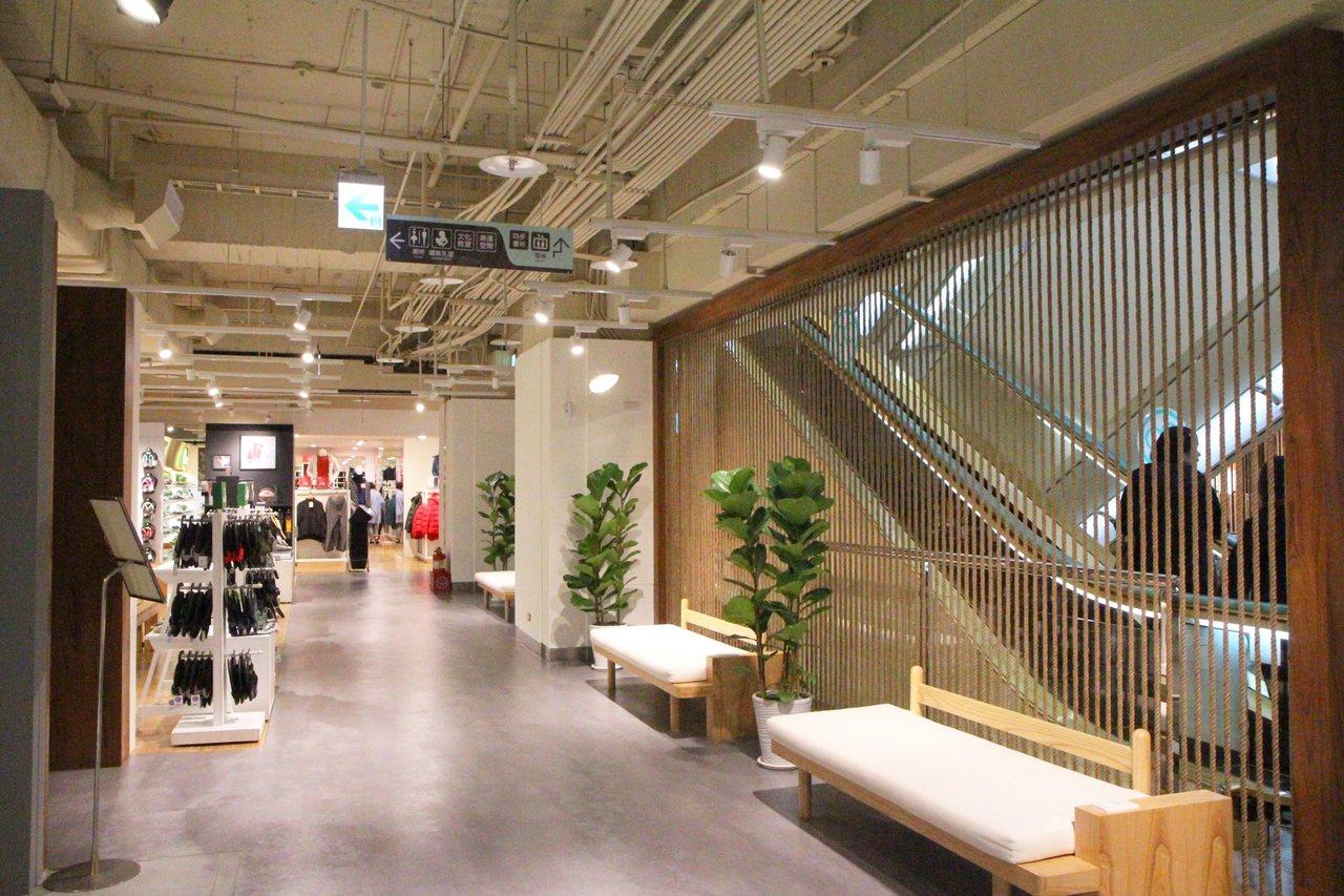 比漾廣場改裝B1空間,共引進了22家生活潮流品牌。圖/比漾廣場提供
