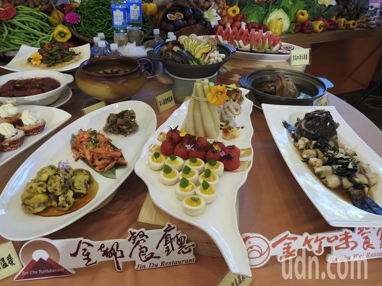 中華民國溫泉觀光協會以「中西合併」概念推出台灣溫泉宴,將提供食譜影音供各業者學習...