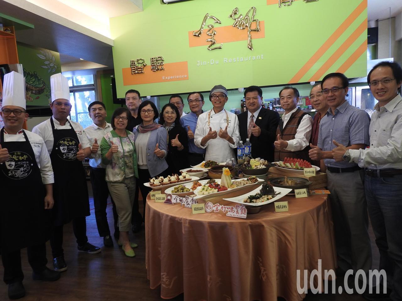 中華民國溫泉觀光協會今在南投縣埔里金都餐廳辦論壇,吸引國內15處溫泉區逾百業者出...
