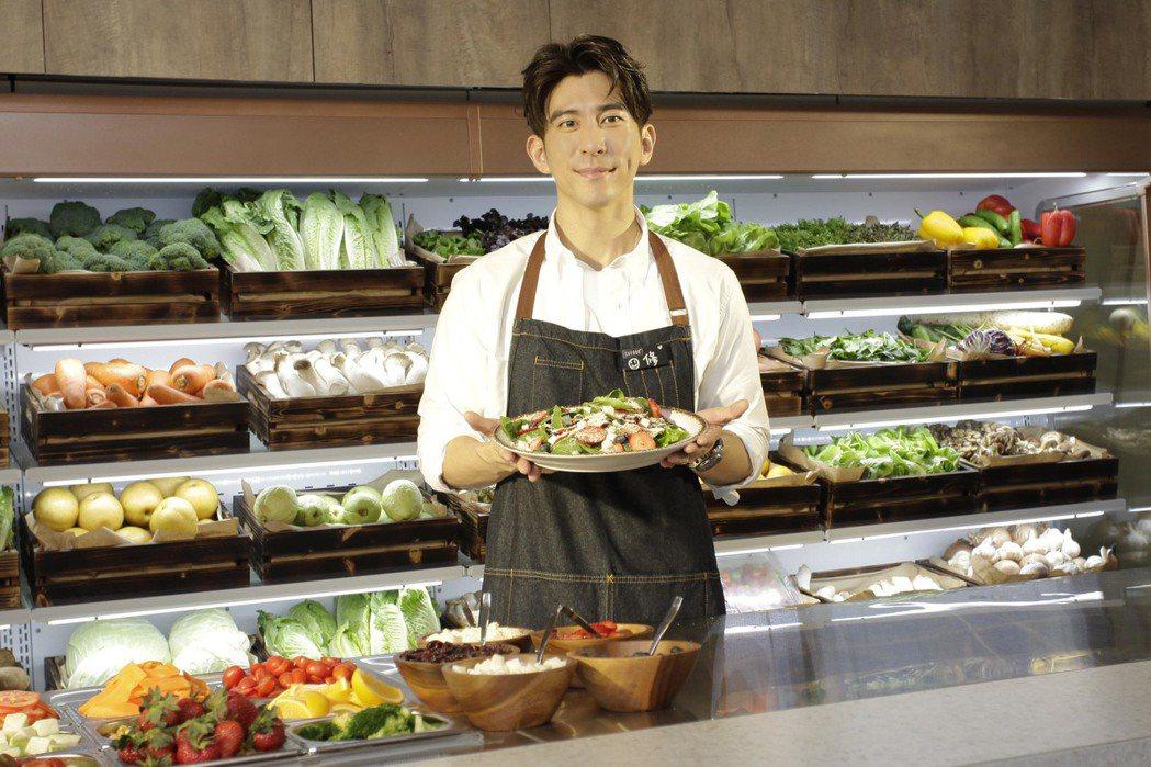修杰楷出席蔬食餐廳活動。圖/SUFOOD提供