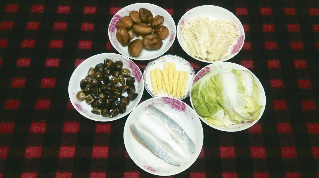 虱目魚蔬菜鍋。 圖/讀者提供