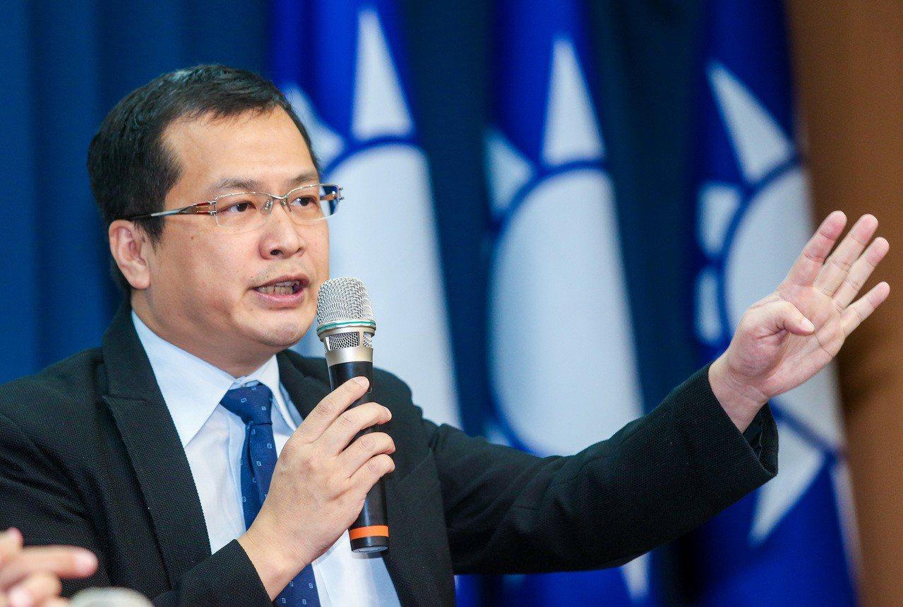 總統府前副秘書長羅智強。記者鄭清元攝影/聯合報系資料照