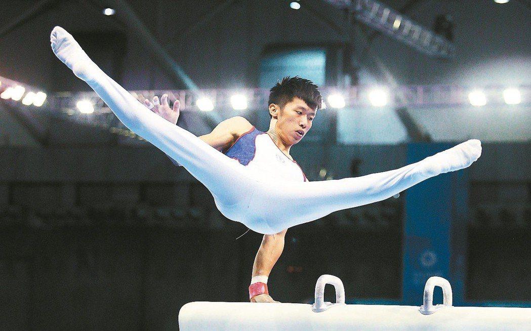 世大運金牌得主李智凱。 報系資料照