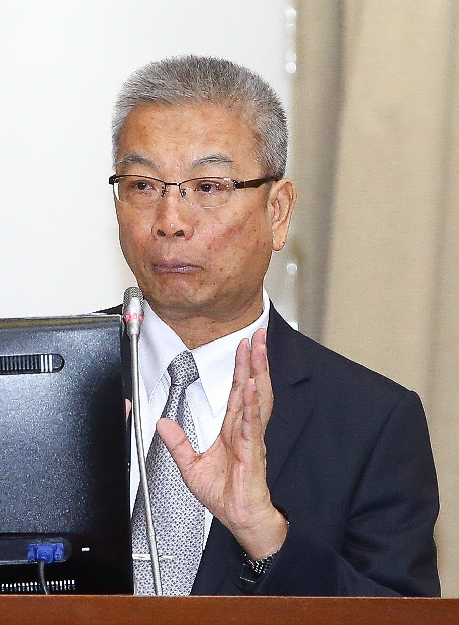 財政部長許虞哲。記者程宜華/攝影