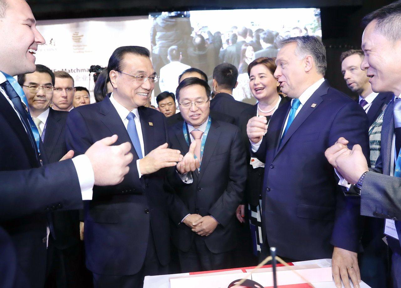李克強:加快推進中歐陸海快線建設。 新華社