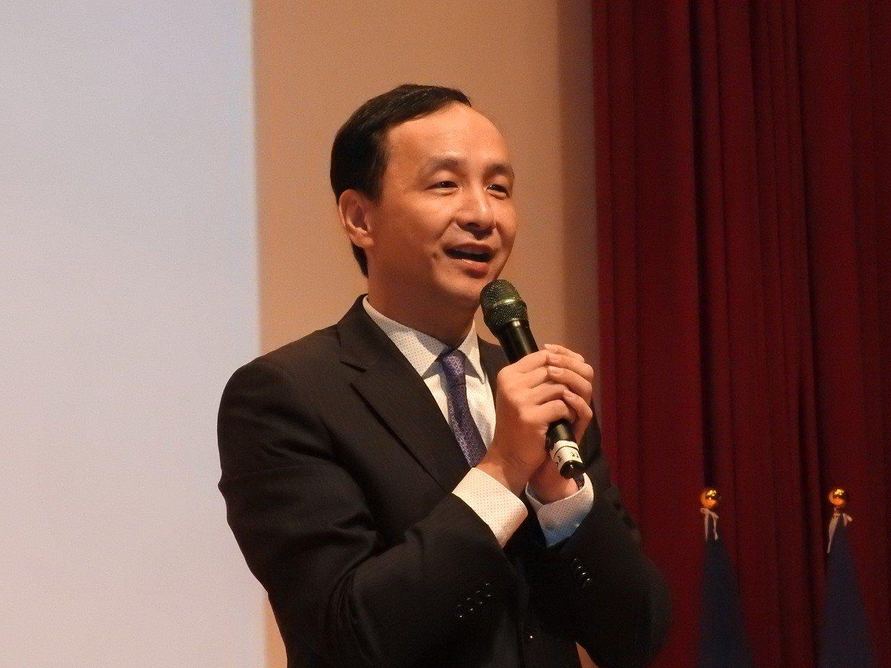 新北市長朱立倫。記者祁容玉攝影/聯合報系資料照