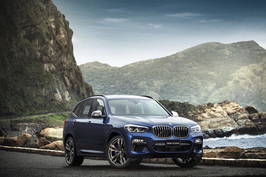 全新BMW X3 M40i。 圖/汎德提供
