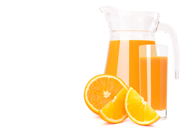 市售果汁飲料通常只含10-20%的原汁,其他以水和糖為主。 圖/ingimage
