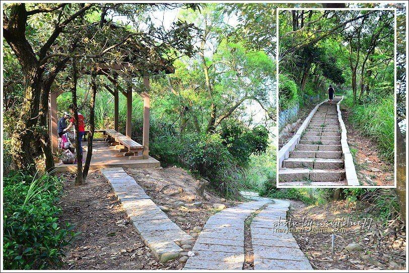 ↑步道後段上下坡度稍大,但也不致於累。