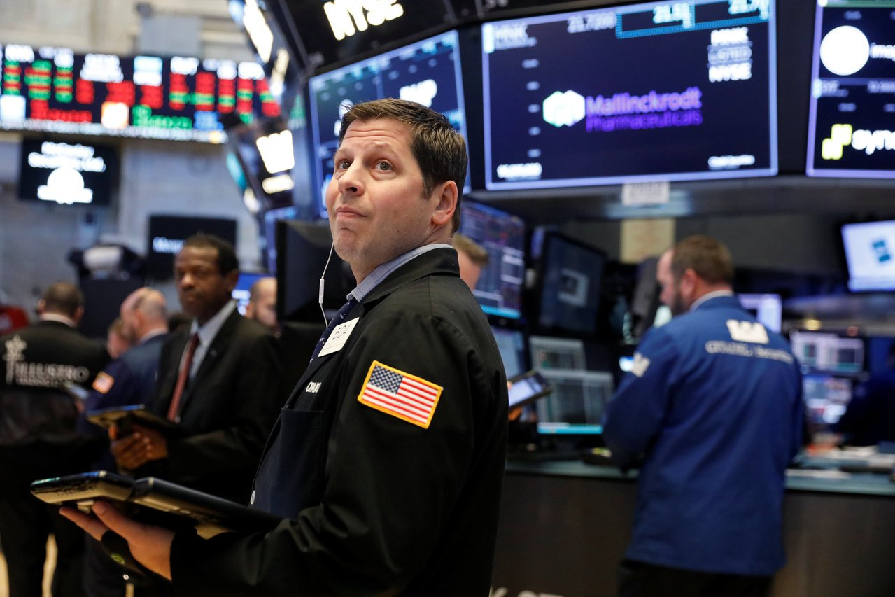 受稅改進展與Fed主席證詞激勵 美股三大指數28日同創收盤新高。(路透)
