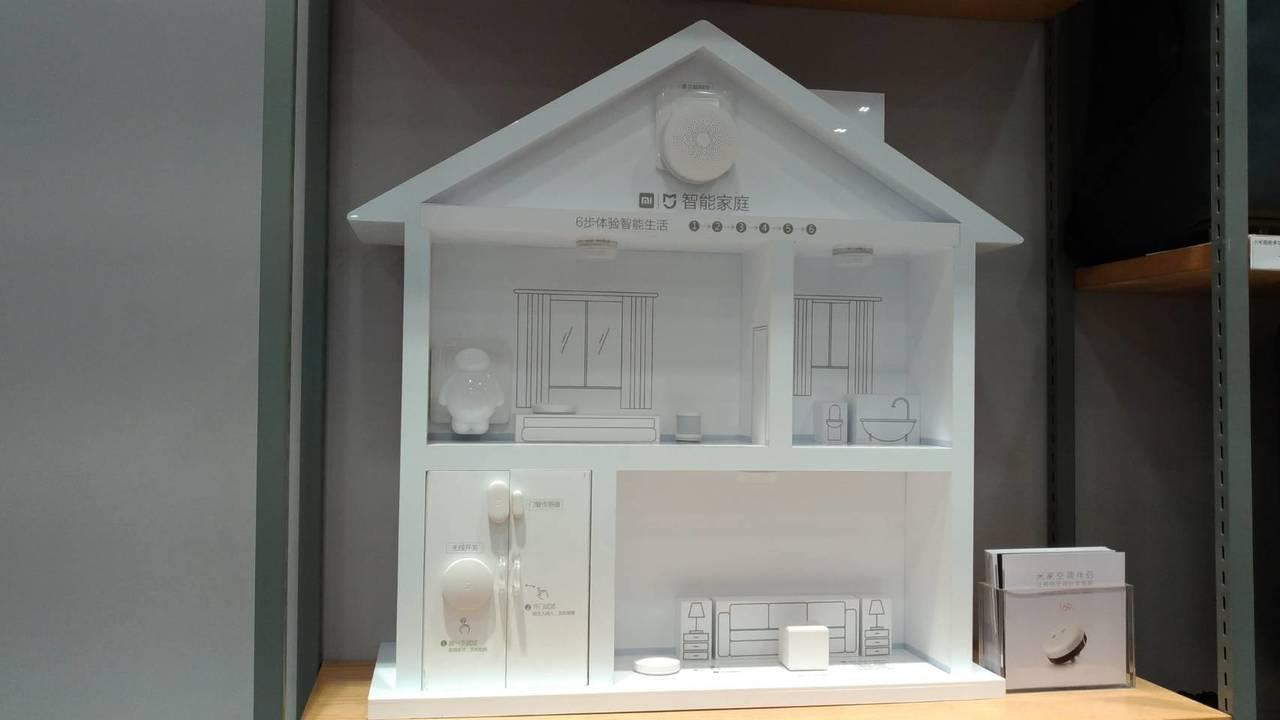 小米智能家居的炫風產品,明年3月之前來台搶市。記者張義宮/攝影