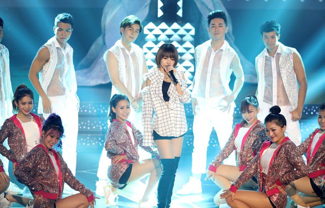 林明禎日前受邀到TVB馬來西亞星光薈萃頒獎典禮演出。圖/種子音樂提供