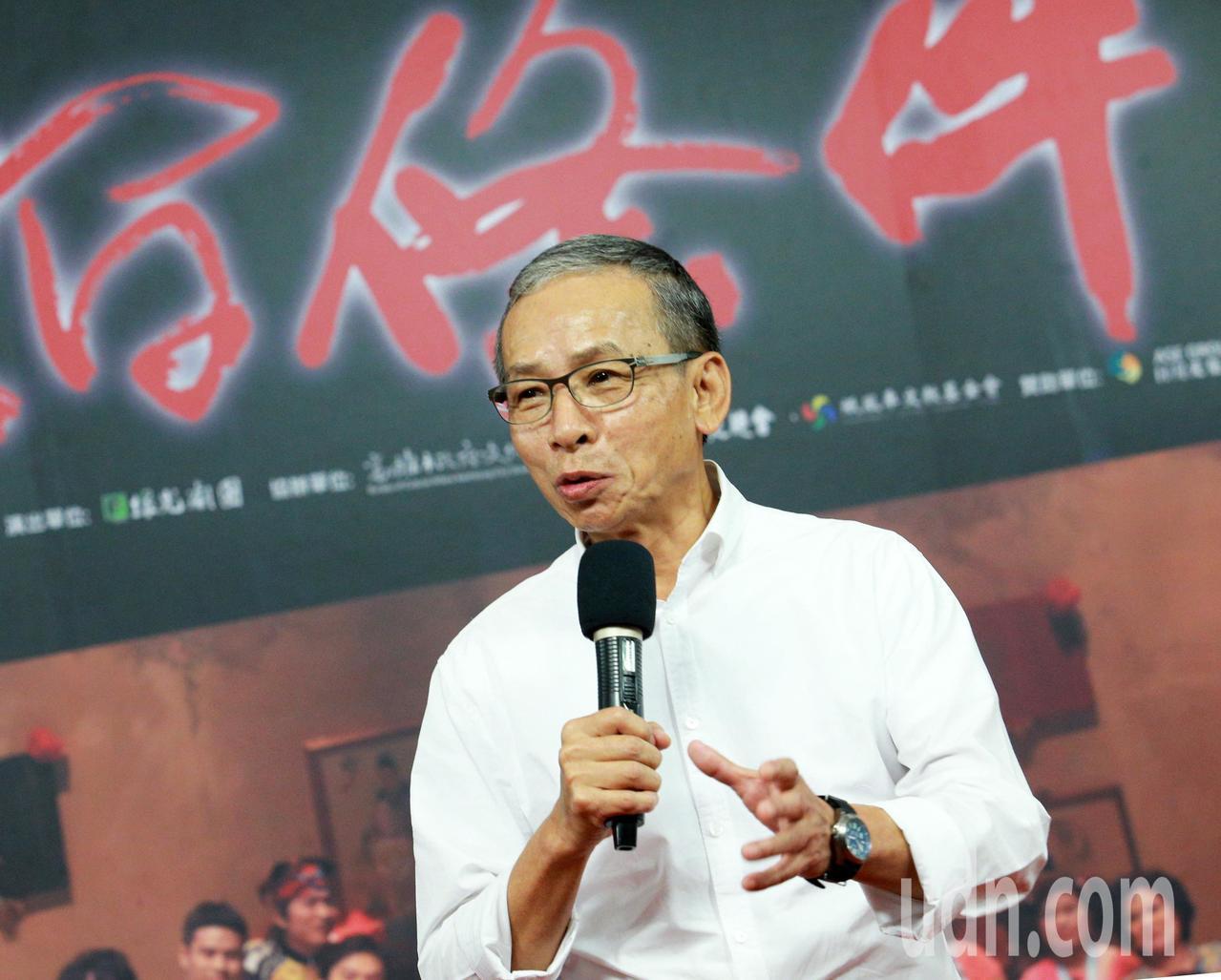 綠光劇團吳念真宣布「人間條件 I」12/9高雄免費演出。記者劉學聖/攝影
