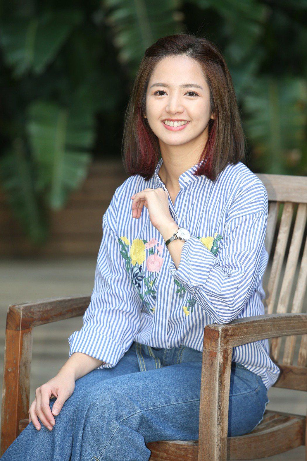 臧芮軒接受「聯合報」專訪。記者陳瑞源/攝影