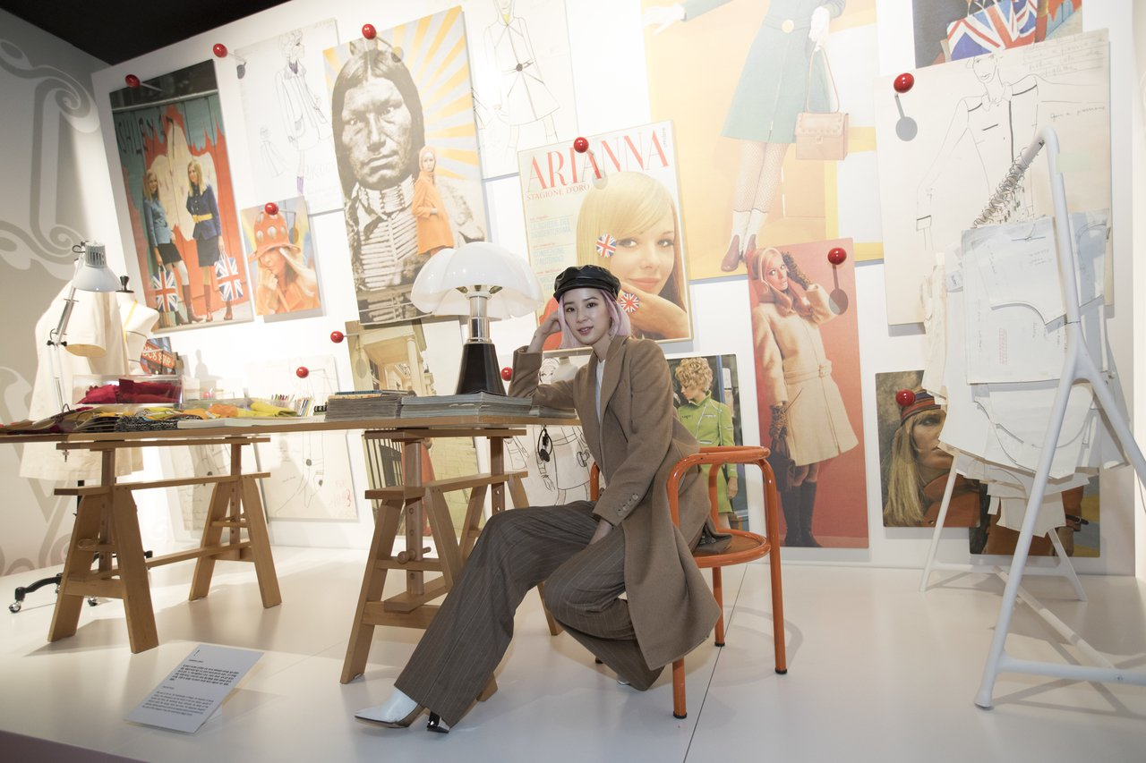 Irene Kim是「Coats!」首爾大衣展的開展嘉賓之一。圖/Max Mar...