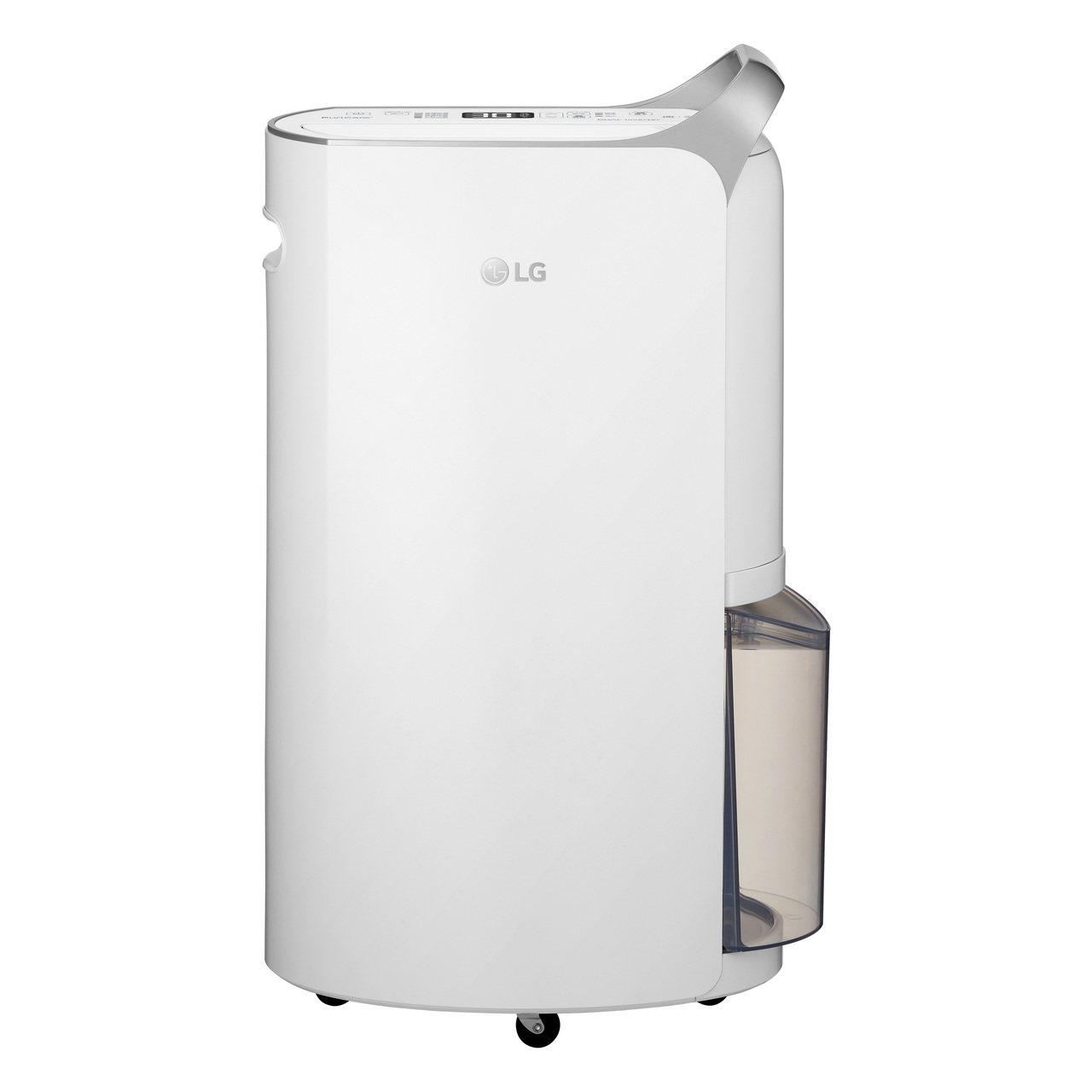 LG推出符合2018年能源效率一級標準的變頻除濕機,節能升級20%。圖/台灣LG...