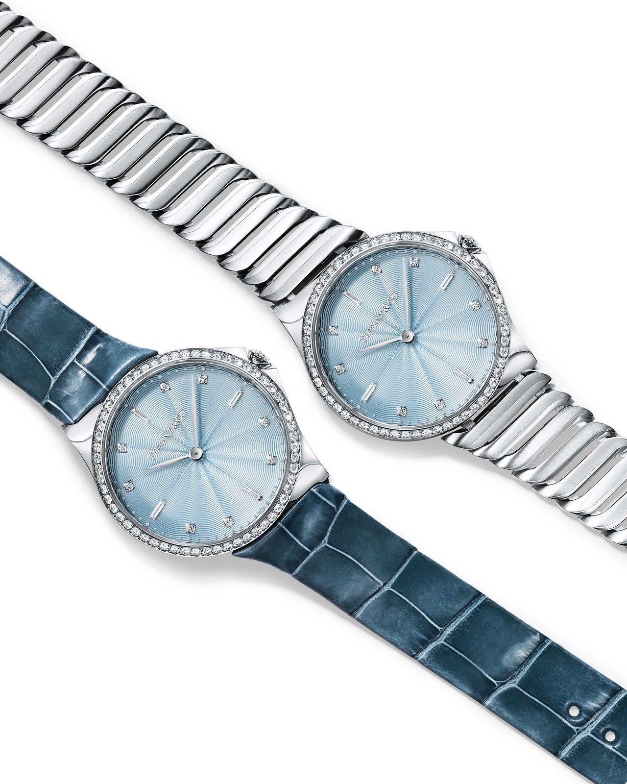Tiffany Metro系列腕表,價格店洽。圖/ Tiffany 提供