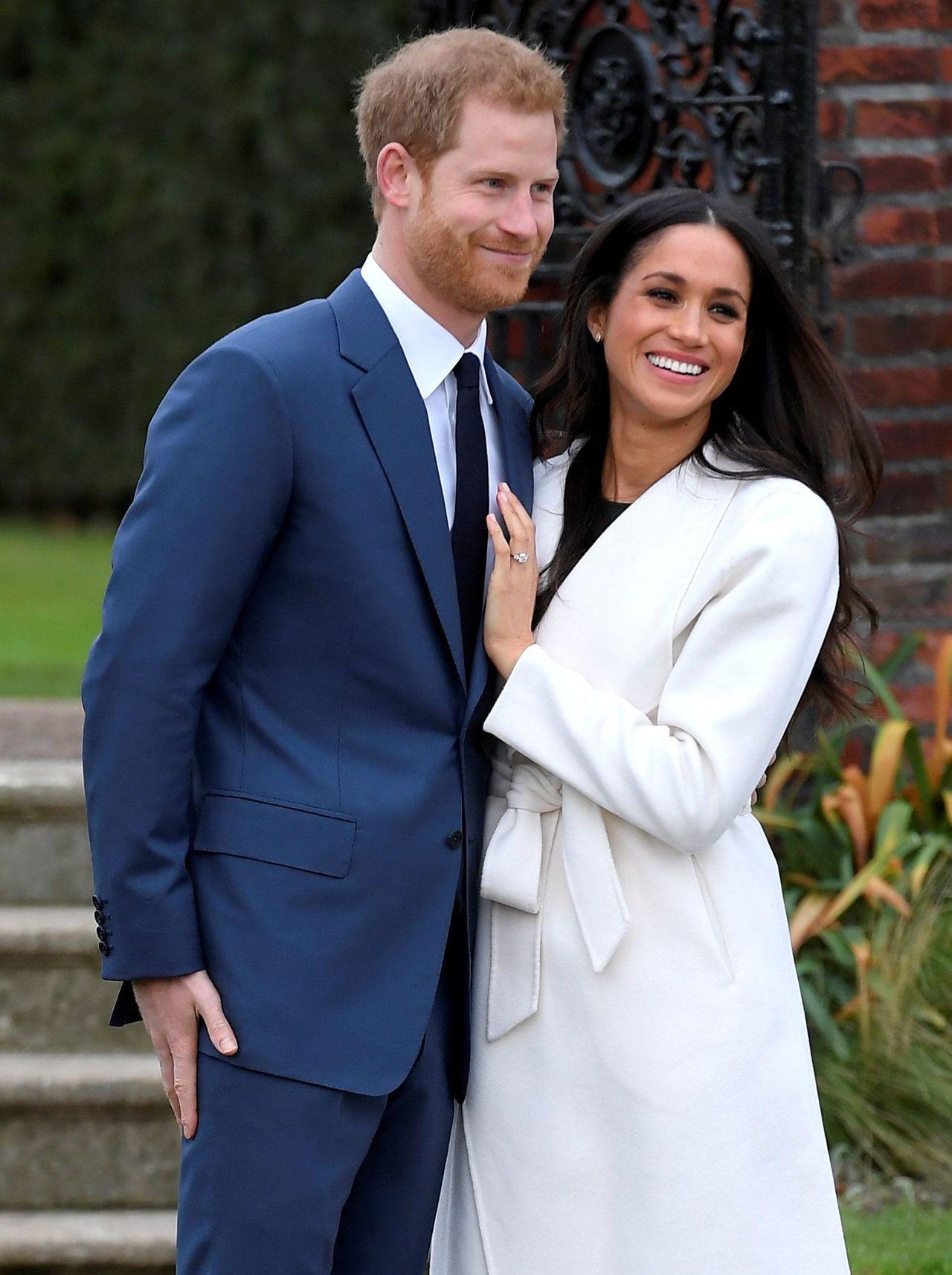 英國哈利王子與美國女星梅根馬克爾訂明年5月舉行婚禮,零售業者樂觀以待。(圖/路透...