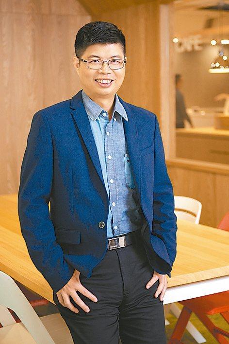 LINE平台新創事業暨產品開發部總監陳鴻嘉。 圖/陳鴻嘉提供
