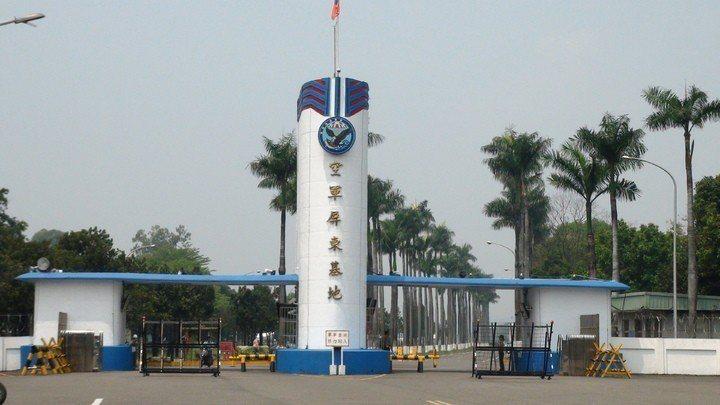 屏東空軍基地。 本報資料照片