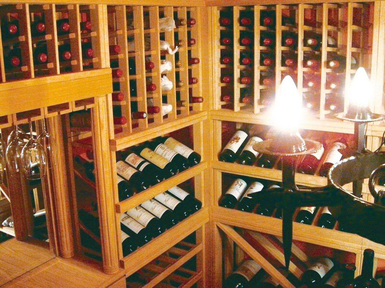 橡木桶的酒窖。 圖/橡木桶提供