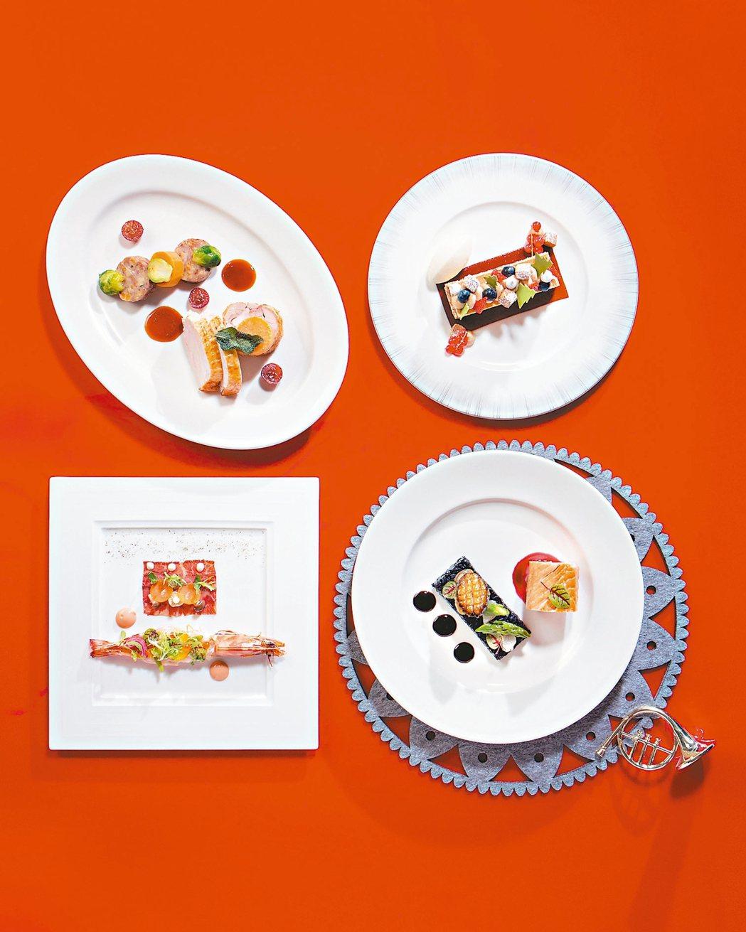 君悅酒店義式料理Ziga Zaga用新式手法演繹傳統烤火雞。