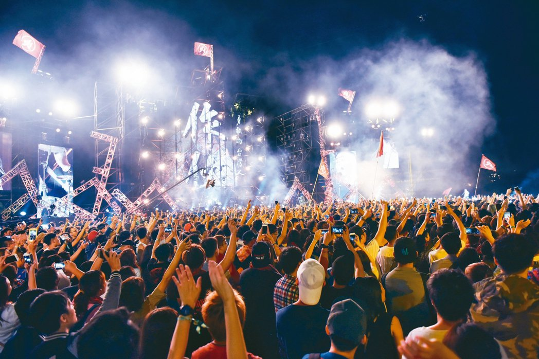 桃園近年眾多體育盛事與音樂饗宴,城市充滿活力。 桃園市政府/提供