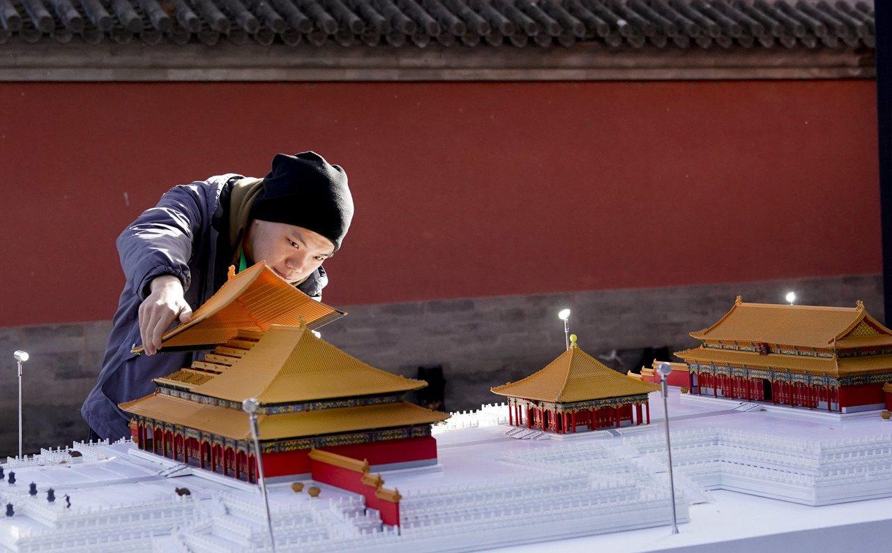 題為「傳統文化×未來想像」的「文化+科技」國際論壇在北京故宮博物院舉辦,論壇期間...