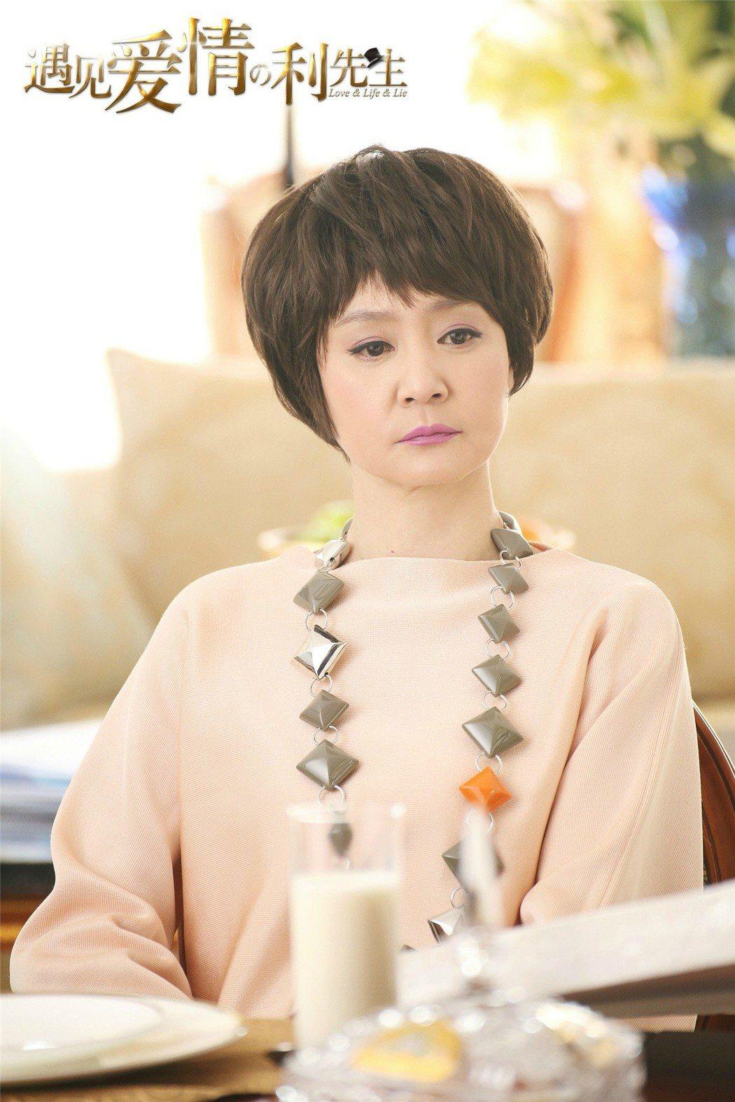 劉雪華近來都在大陸拍戲。 圖/擷自微博