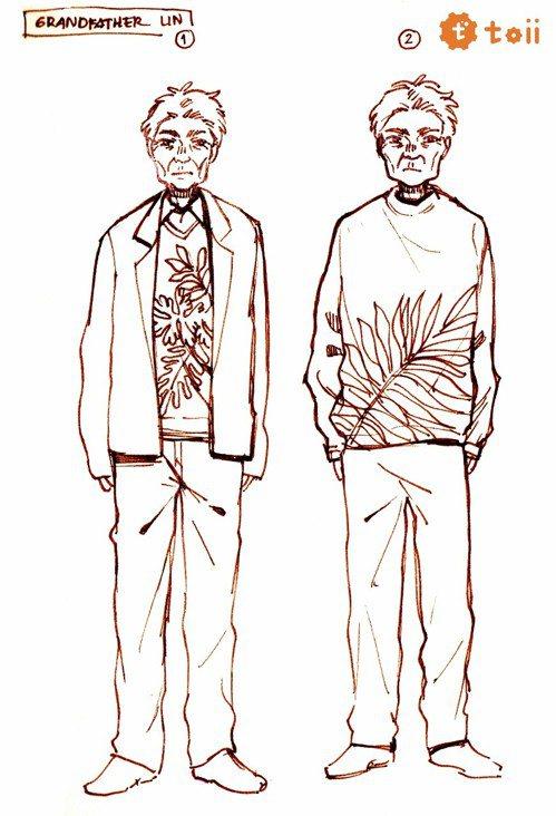 《鎮山》靈魂人物林楷石(Kai-Shi Lin),為男主角林丹尼的外公