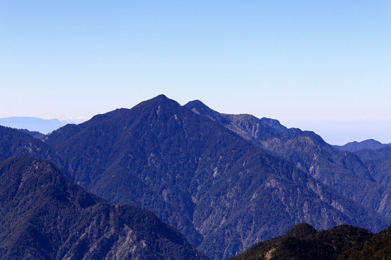 白姑大山。 圖/雪羊自攝