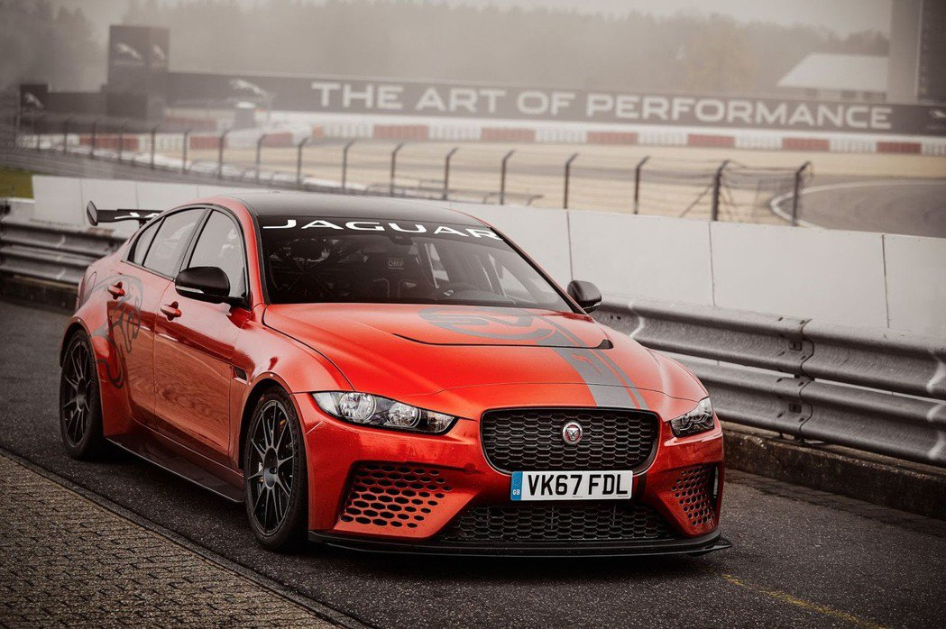 Jaguar XE SV Project 8。 摘自jaguar