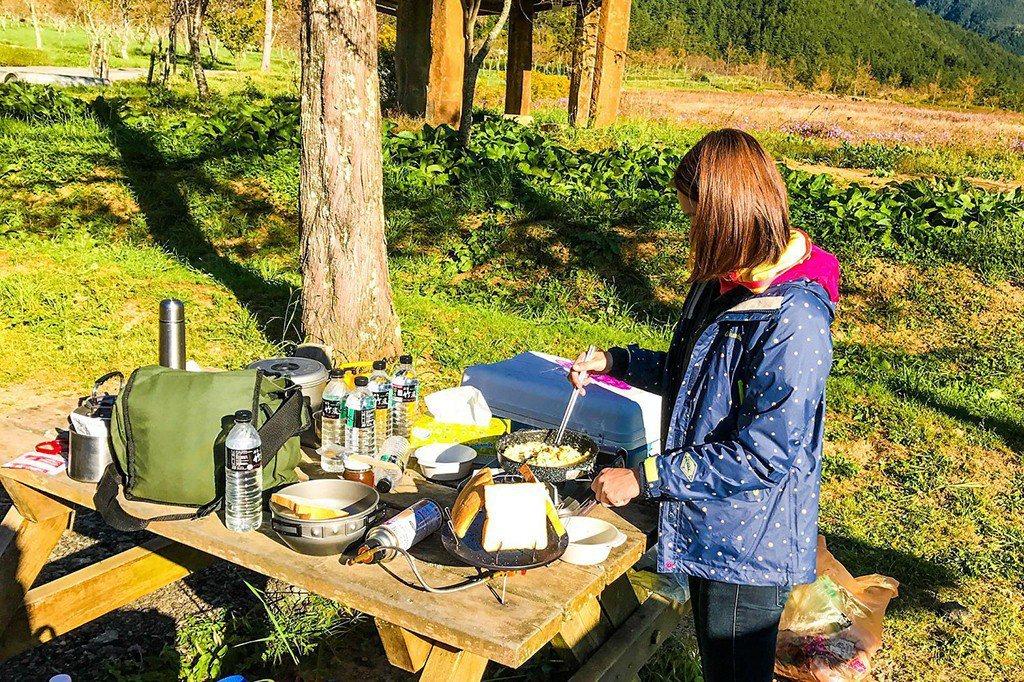 ▲台中武陵農場露營。。(圖/Tripbaa趣吧!達人帶路)