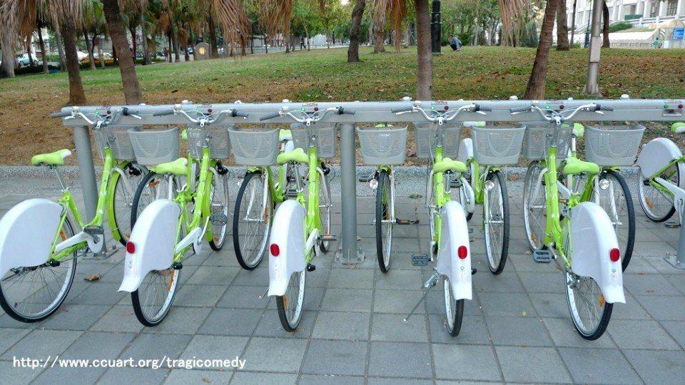 高雄市公共腳踏車cbike。(Flickr授權作者-Yi-Lin Hsieh)
