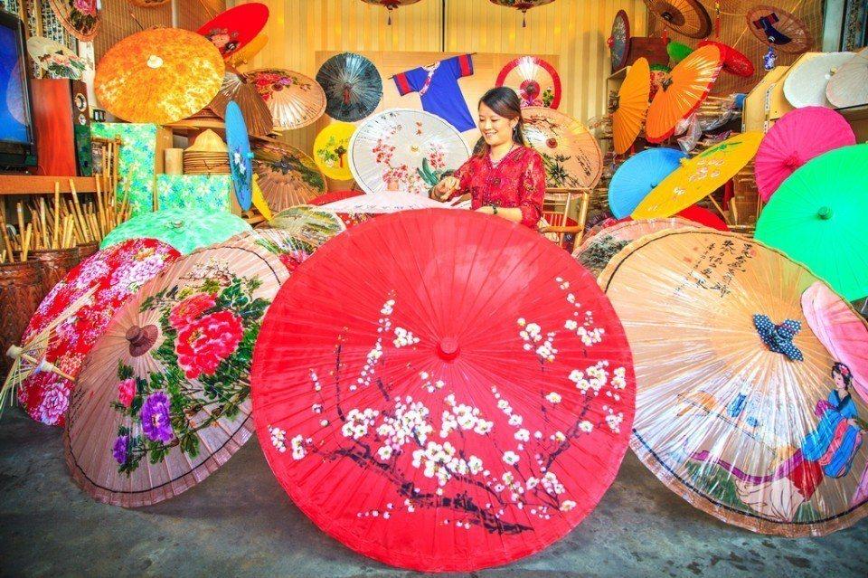 美濃特有的油紙傘文化。(圖片來源/旅遊台灣網站)